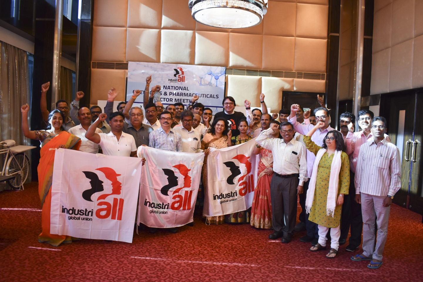 Chemical and pharmaceutical unions build power in India | IndustriALL