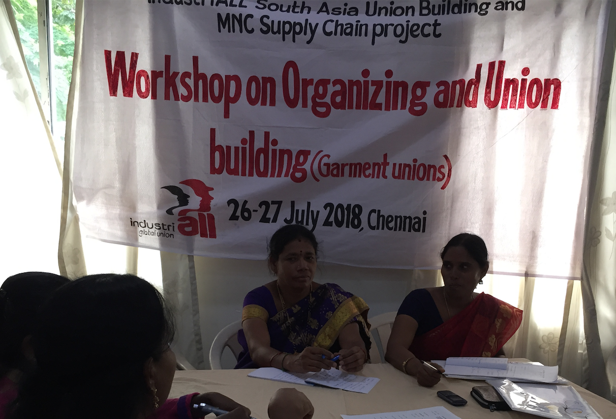 Indian auto and garment workers move to strengthen union