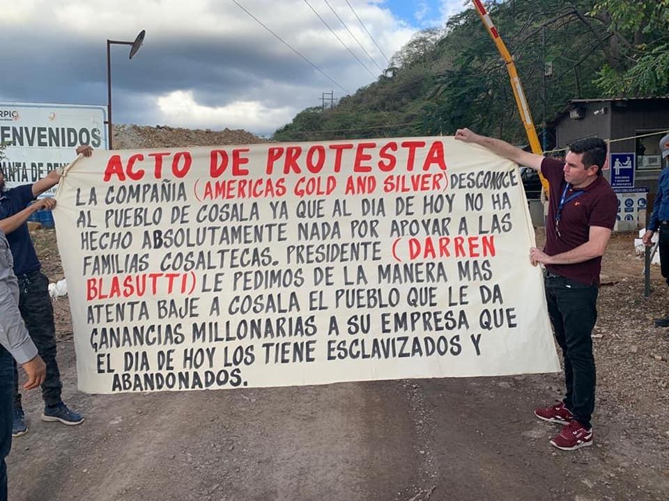 Empresas canadienses, responsables de 50 por ciento de los conflictos mineros en México