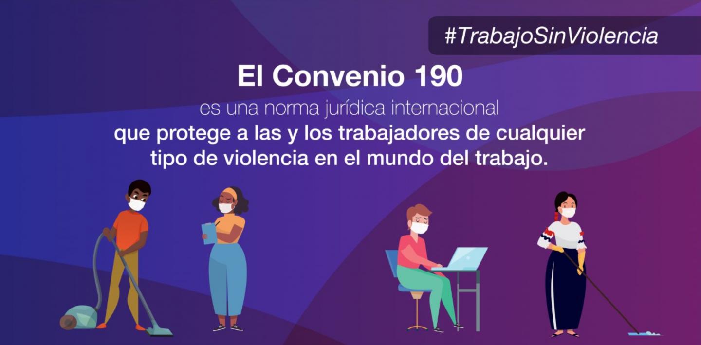 Los sindicatos presionan para ratificar el Convenio 190 de la OIT |  IndustriALL