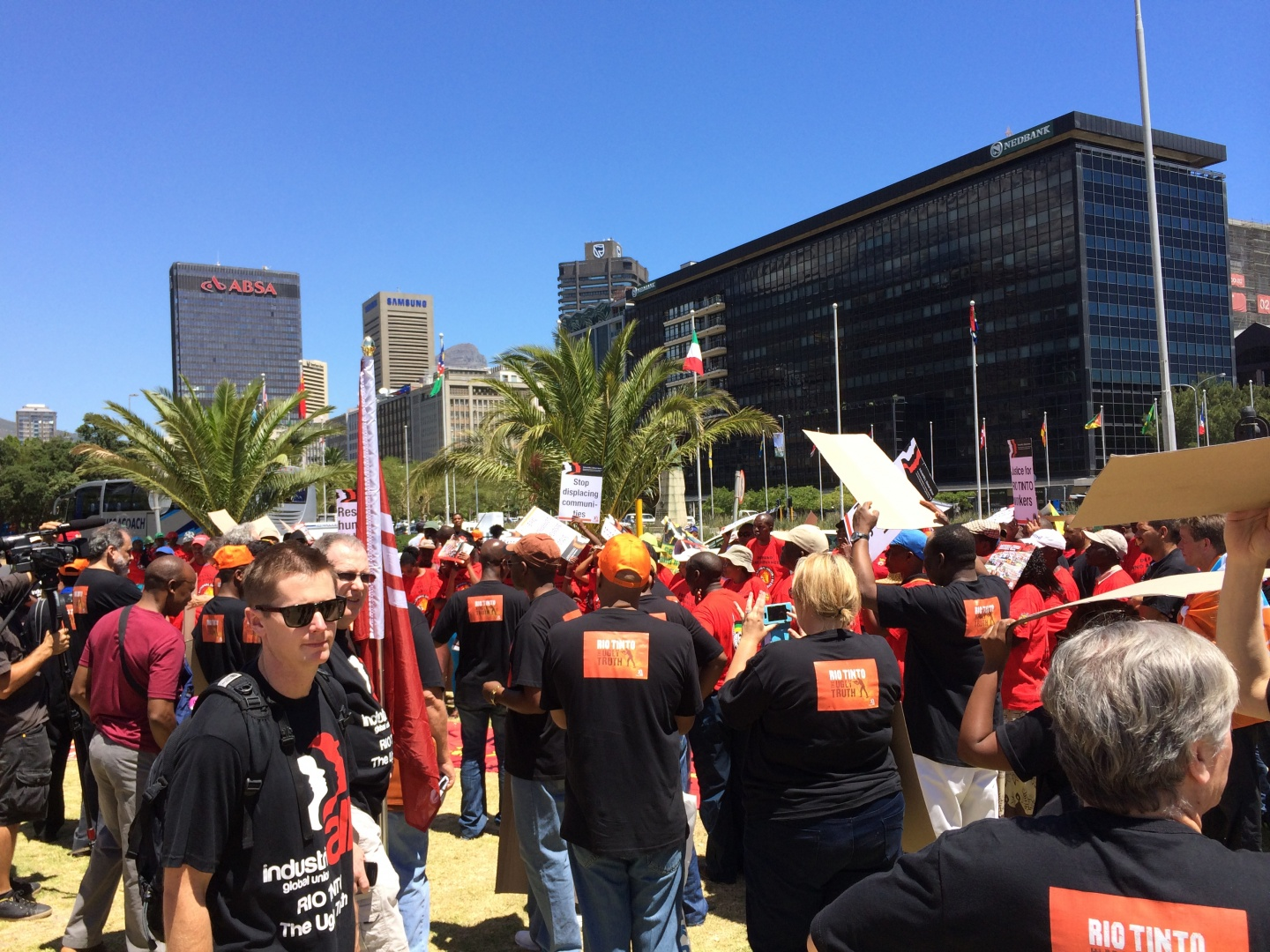 Launch of global campaign against Rio Tinto in Cape Town | IndustriALL