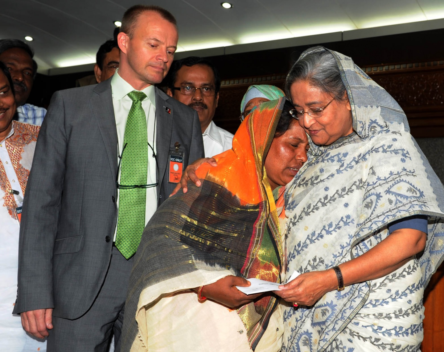 Families of Bangladesh fire victims get compensation