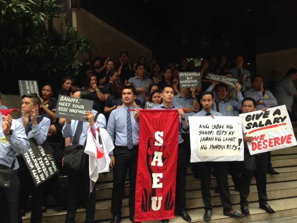 Philippines Union Actions At Sanofi Aventis Lead To Collective