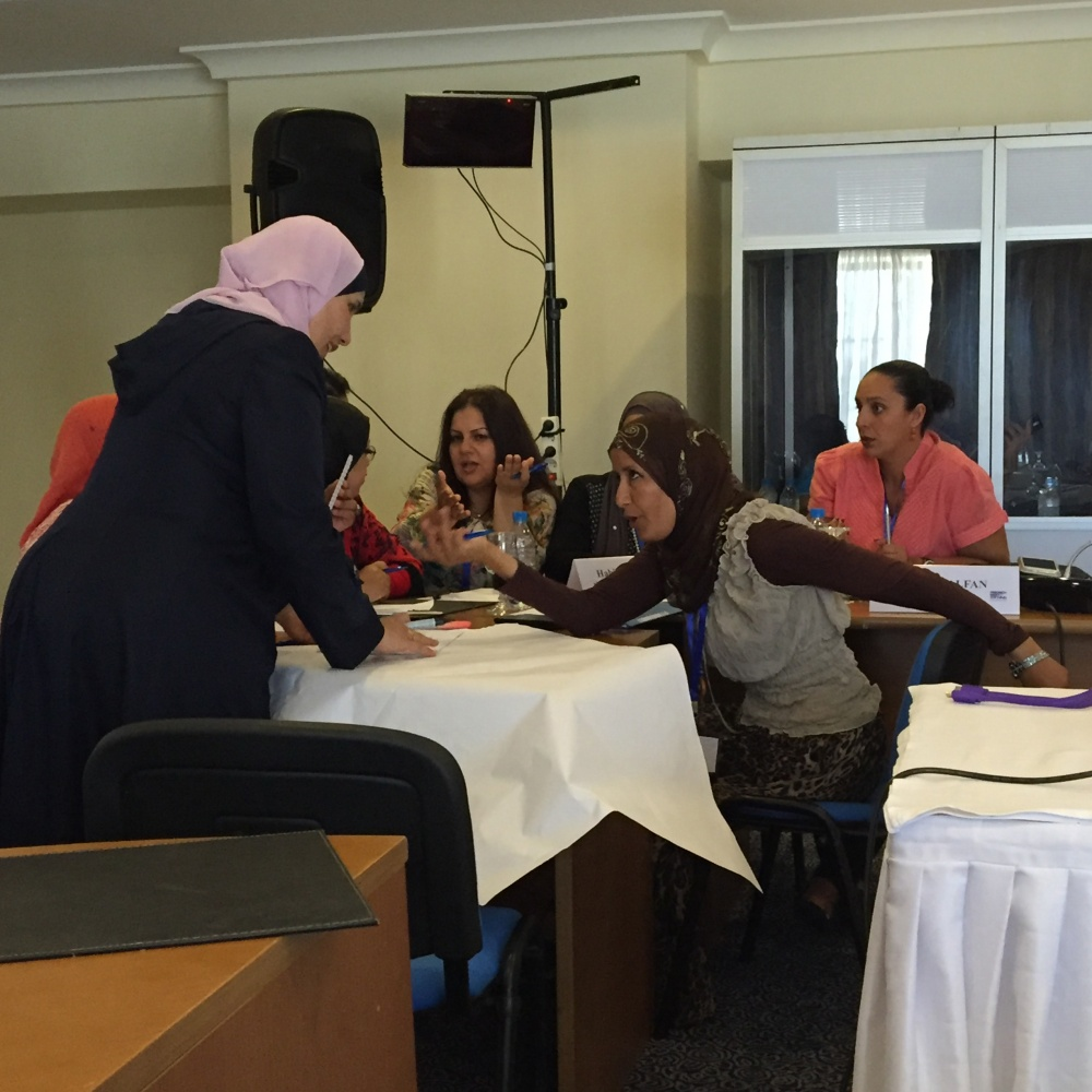 mena women Women entrepreneurs in the middle east and north africa:  most women business owners in the mena region are between 35 and 54 years of age, consistent with worldwi-.