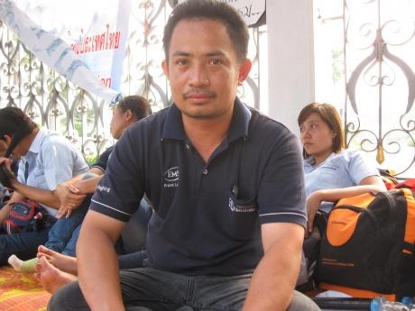 Electrolux union president Phaiwan Metha