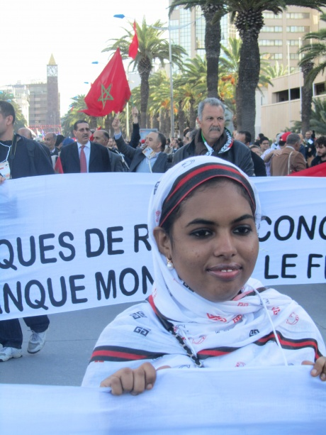 Rally opening WSF 2013, Tunisia