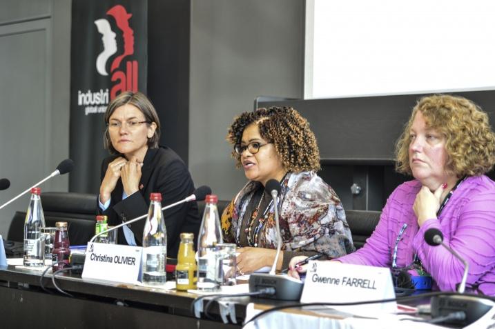 Женский комитет IndustriALL продолжает настаивать на установлении 40-процентной квоты представительства женщин в структурах IndustriALL