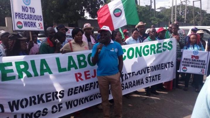 Sindicatos De Nigeria Realizan Protesta Nacional Por La Crisis Lab L