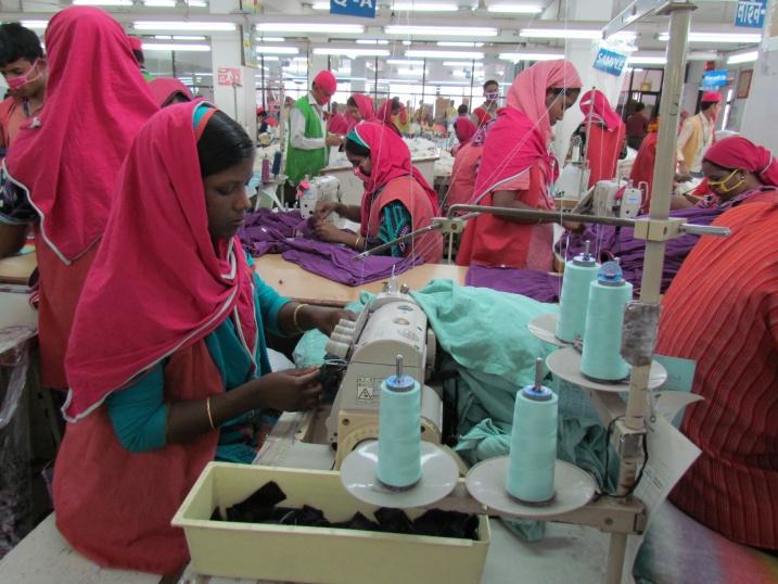 BANGLADESH, Dhaka, Ashulia, DBL factory, February 2013