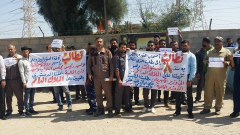 Iraqi electricity workers fight precarious work | IndustriALL