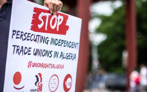Global Unions Call For Urgent Ilo Intervention In Algeria Industriall