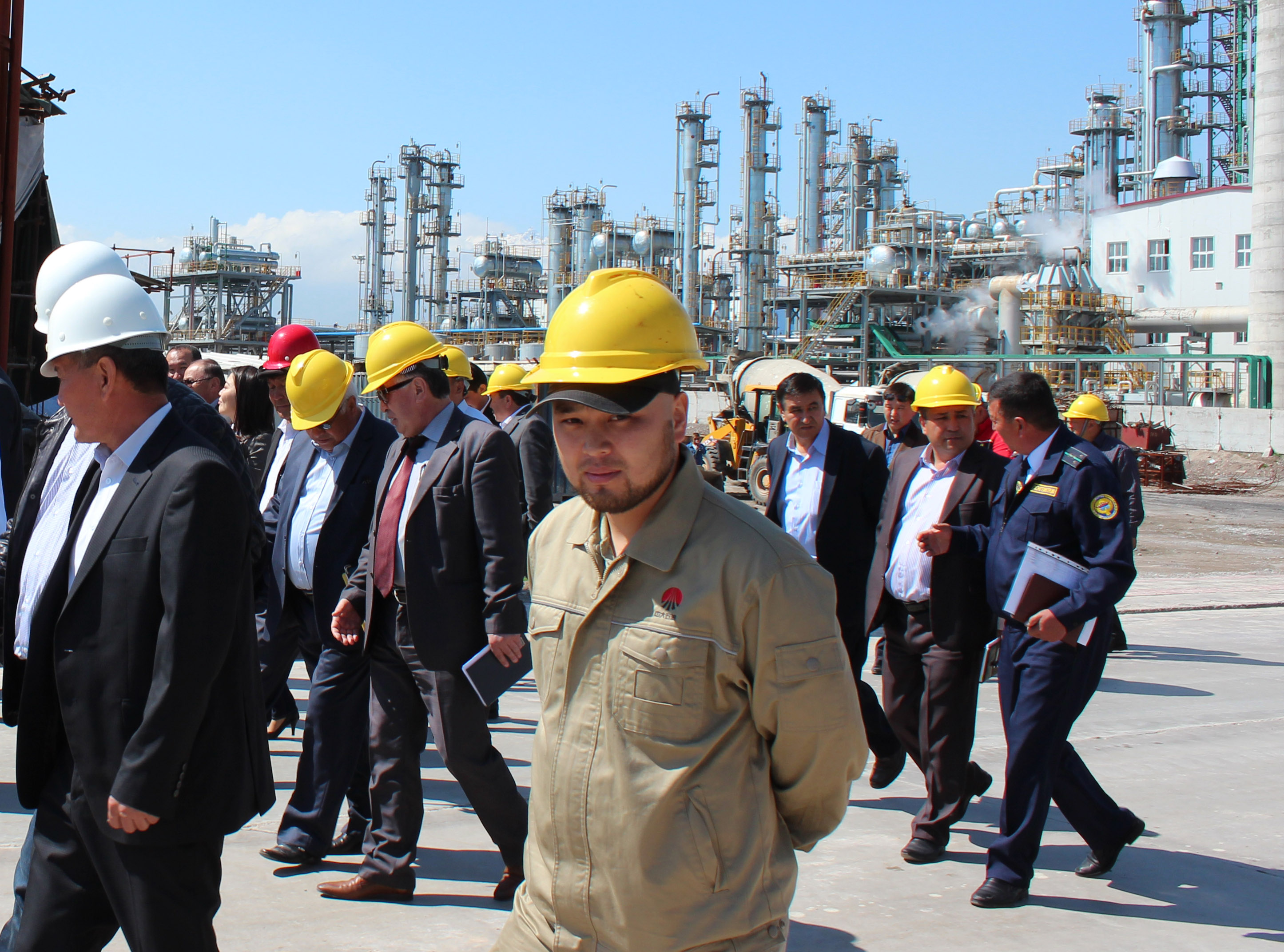Chinese Oil Company Attacks Workers In Kyrgyzstan