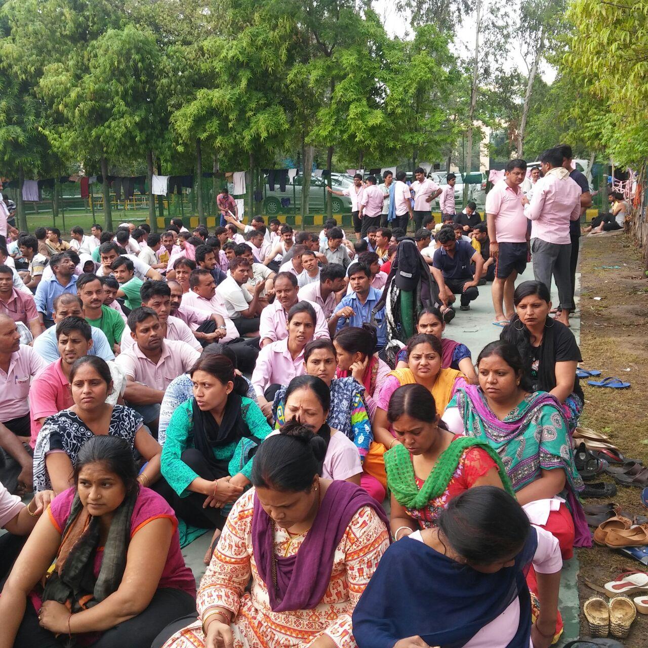Trabajadores/as reanudan sus labores tras 10 días de protesta en LG ...
