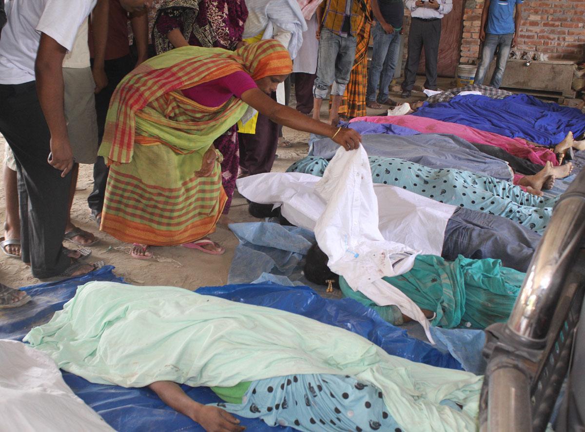 Fashion giants fail to escape long shadow of Rana Plaza disaster