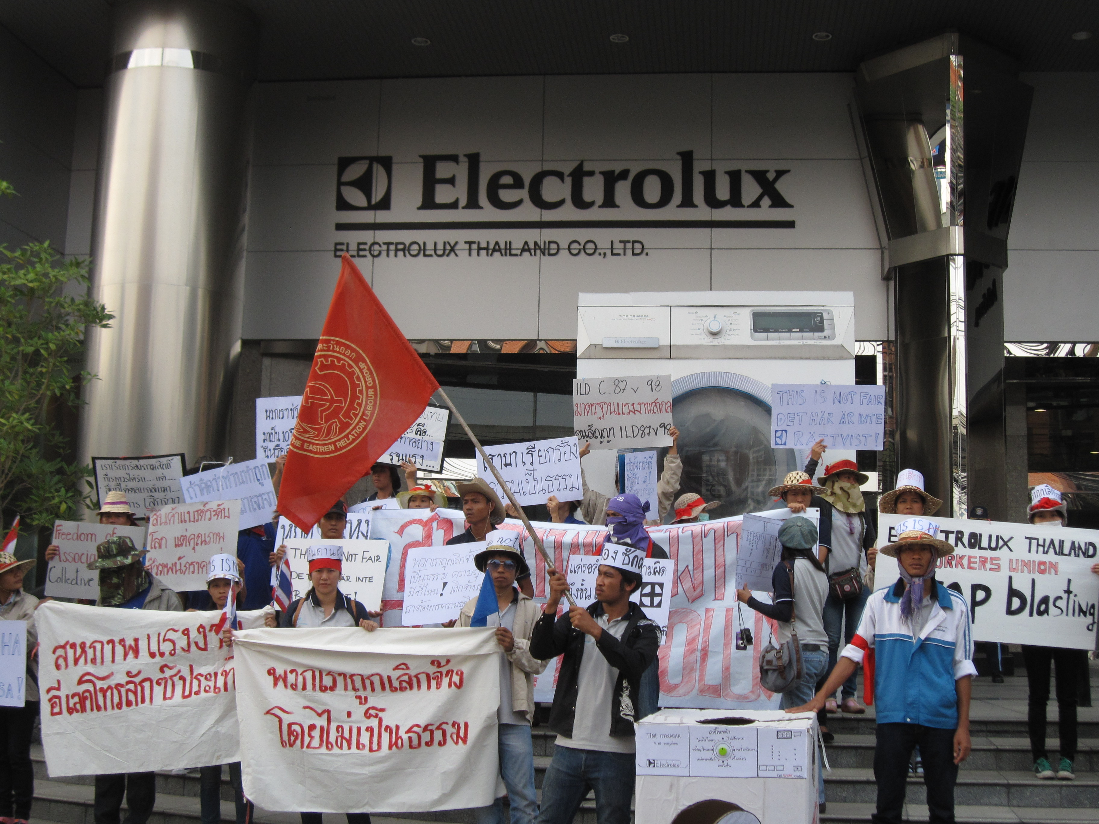 Thai Electrolux Workers Fight Against Dismissal Industriall